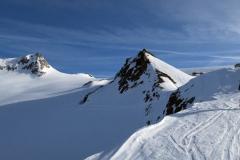 Jutranji pogled na vstop na ledenik