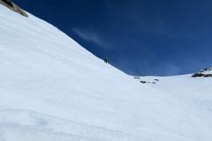 Nekje pri spodnjem robu ledenika