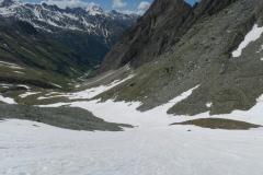Snežni jeziki pod Studlhutte