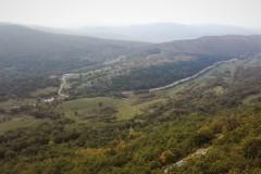 Dolina pod vasjo Zazid