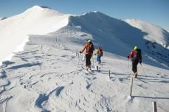 položen greben proti vrhu Steinocka