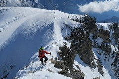 Zadnji metri pred vrhom