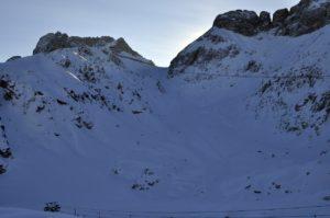 od Gilbertija do Prevale je nadvse spodobna zimska kulisa